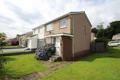 3 Bedrooms Semi Detached House for sale in Lomond Road, Wemyss Bay