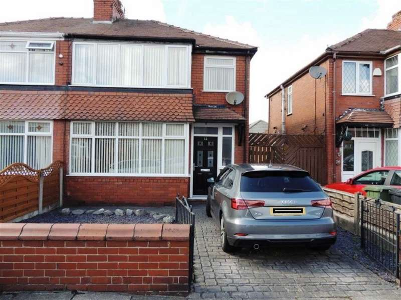 3 Bedrooms Semi Detached House for sale in Hawthorn Road, Droylsden, Manchester