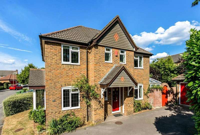 4 Bedrooms Detached House for sale in Foxs Furlong, Chineham, Basingstoke, RG24