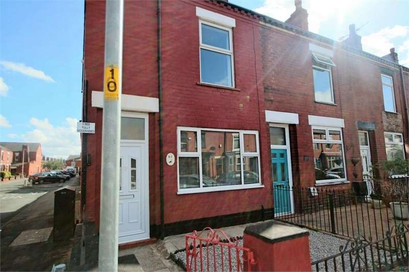 3 Bedrooms End Of Terrace House for sale in Windermere Road, LEIGH, Lancashire