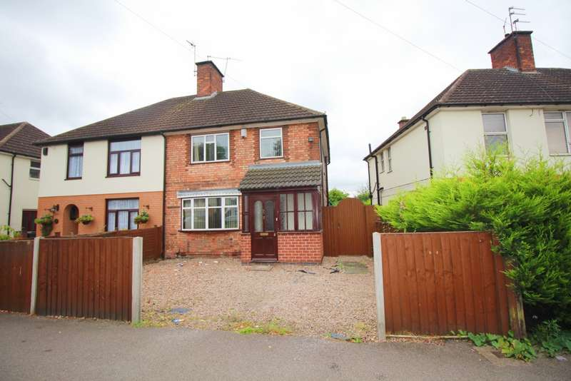 3 Bedrooms Semi Detached House for sale in Tailby Avenue, Leicester, LE5