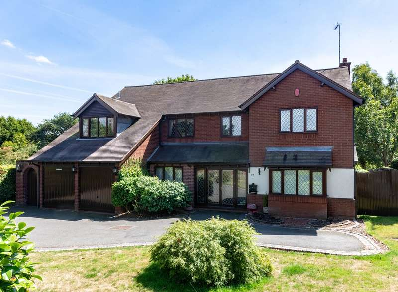 Detached House for sale in Stonehouse Road, Etchinghill, Rugeley, WS15