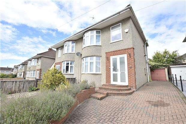 3 Bedrooms Semi Detached House for sale in Kelston Grove, Hanham, BS15 9NJ