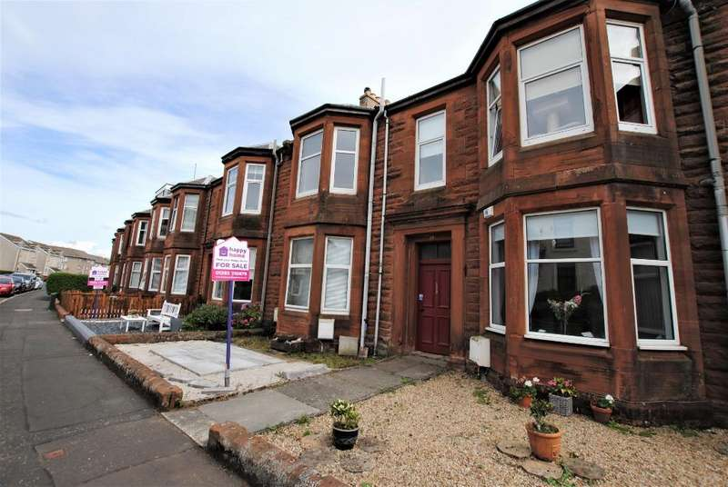 1 Bedroom Flat for sale in Welbeck Crescent, Troon, South Ayrshire, KA10 6AR