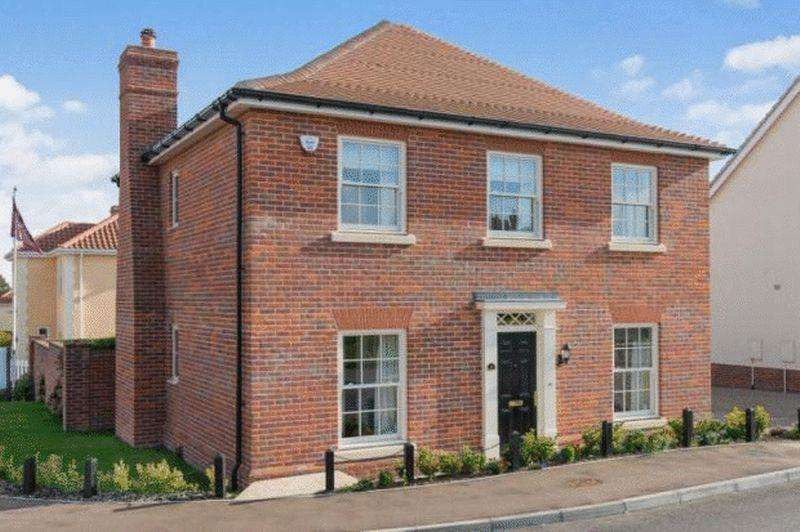 4 Bedrooms Detached House for sale in Culloden Avenue, Costessey, Norwich