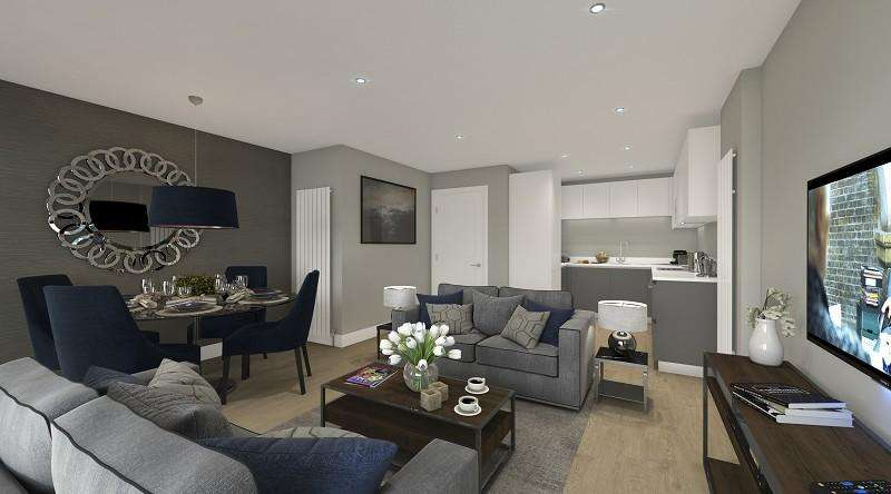 3 Bedrooms Apartment Flat for sale in Leytonstone Road, Stratford, London. E15