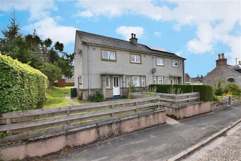 3 Bedrooms Semi Detached House for sale in Tomintoul