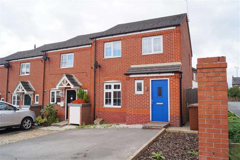 3 Bedrooms Town House for sale in Disreali Crescent, Ilkeston, Derbyshire, DE7