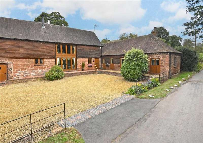 4 Bedrooms Barn Conversion Character Property for sale in Hillside, Rindleford, Bridgnorth, Shropshire, WV15