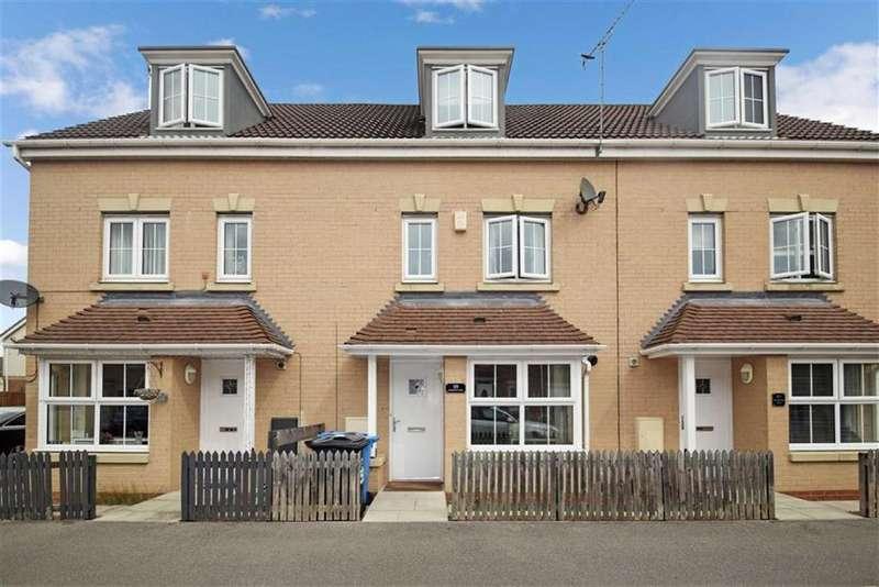 4 Bedrooms Terraced House for sale in Woodheys Park, Kingswood, Hull, East Yorkshire, HU7
