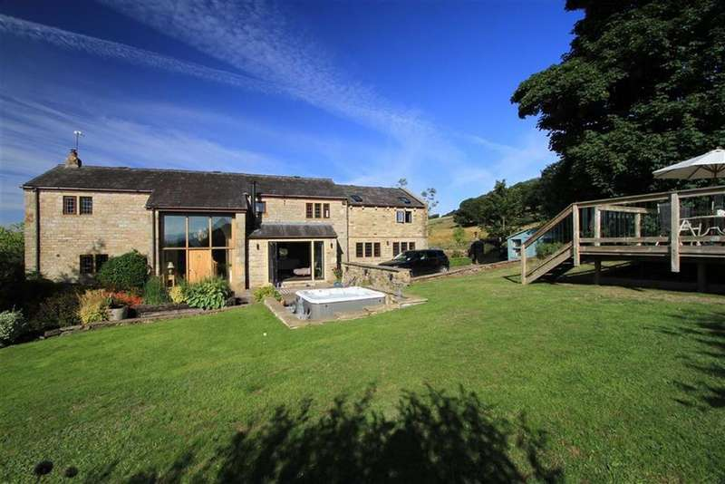 5 Bedrooms Detached House for sale in Shawfield Barn, Shawfield Lane, Norden, Rochdale, OL12