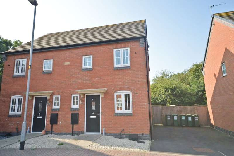 2 Bedrooms Semi Detached House for sale in Ridleys Close, Countesthorpe, Leicester, LE8