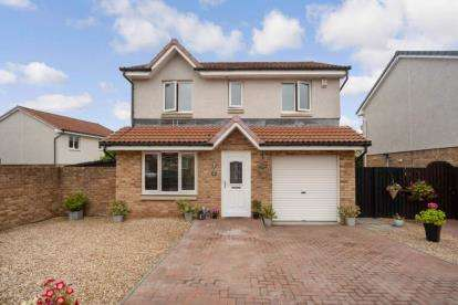 4 Bedrooms Detached House for sale in Buttercup Path, Wishaw, North Lanarkshire