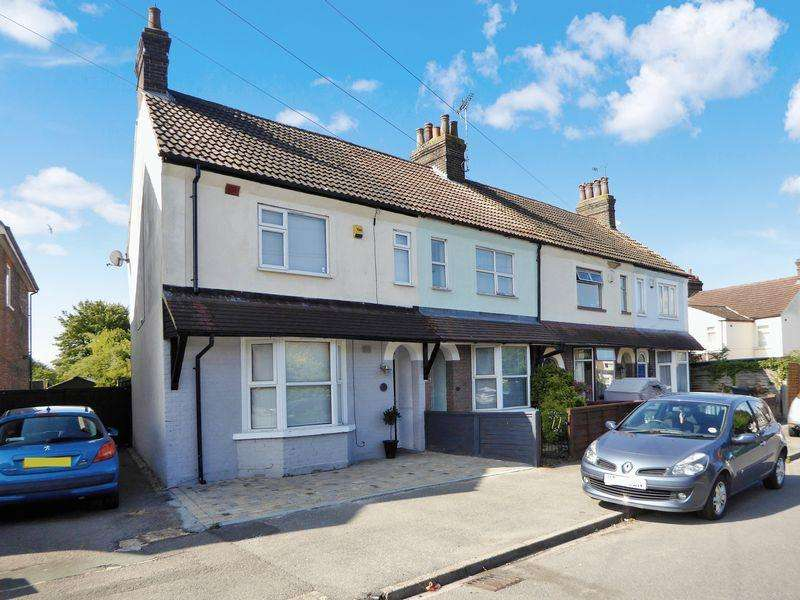 2 Bedrooms End Of Terrace House for sale in Downs Road, Dunstable