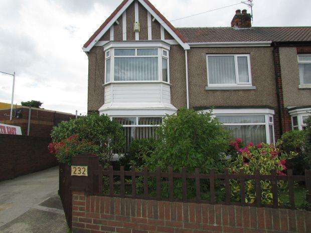 3 Bedrooms Semi Detached House for sale in STOCKTON ROAD, STOCKTON ROAD, HARTLEPOOL