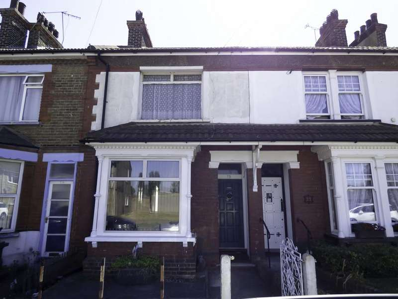3 Bedrooms Terraced House for sale in Milton Road, Swanscombe, Kent