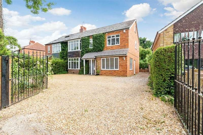 4 Bedrooms Semi Detached House for sale in Eton Road, Datchet, Berkshire