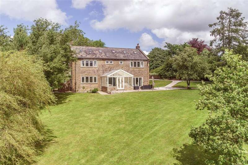 5 Bedrooms Detached House for sale in Gisburn Road, Sawley, Clitheroe, Lancashire, BB7