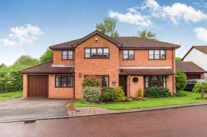 4 Bedrooms Detached House for sale in Laneside Hollow, Collingtree Park, Northampton, Northamptonshire