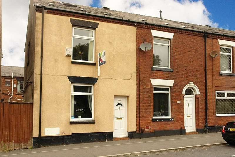 3 Bedrooms End Of Terrace House for sale in Ripponden Road, Oldham