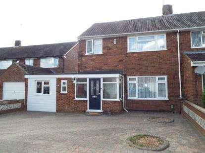 4 Bedrooms Semi Detached House for sale in Pinewood Close, Luton, Bedfordshire