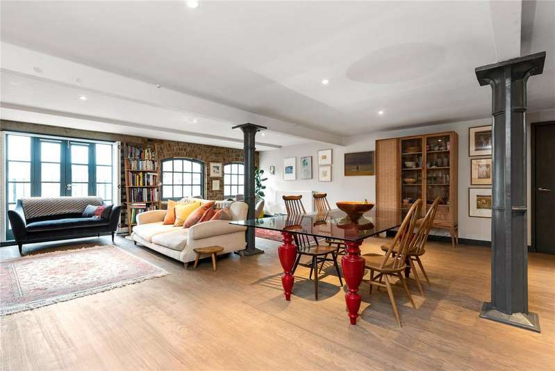 2 Bedrooms Penthouse Flat for sale in Tannery House, 6 Deal Street, Spitalfields, London, E1