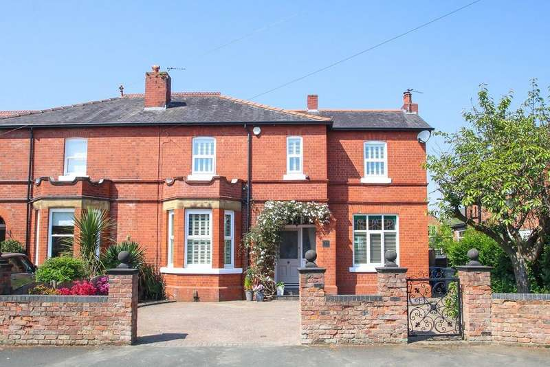 4 Bedrooms Semi Detached House for sale in Brooklyn Avenue, Flixton, Manchester, M41