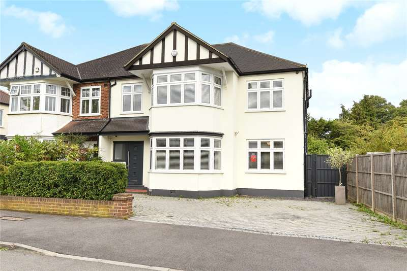 5 Bedrooms Semi Detached House for sale in The Uplands, Ruislip, Middlesex, HA4