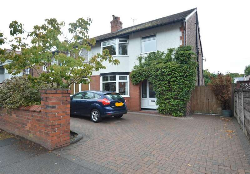 4 Bedrooms Semi Detached House for sale in Marsland Road, Sale, M33