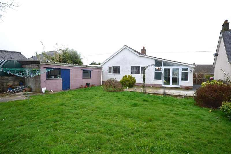 2 Bedrooms Detached Bungalow for sale in Boncath