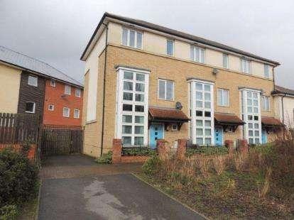 3 Bedrooms End Of Terrace House for sale in Seaton Grove, Broughton, Milton Keynes, Bucks
