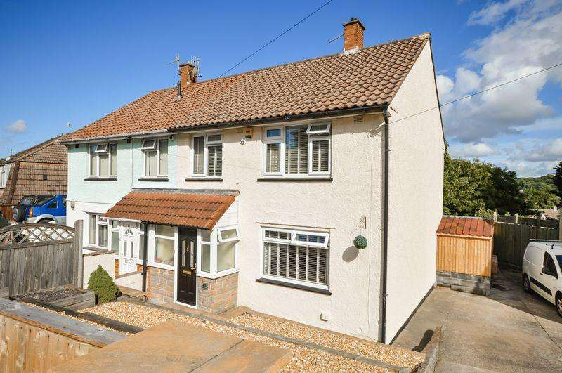 3 Bedrooms Semi Detached House for sale in Turtlegate Avenue, Bristol
