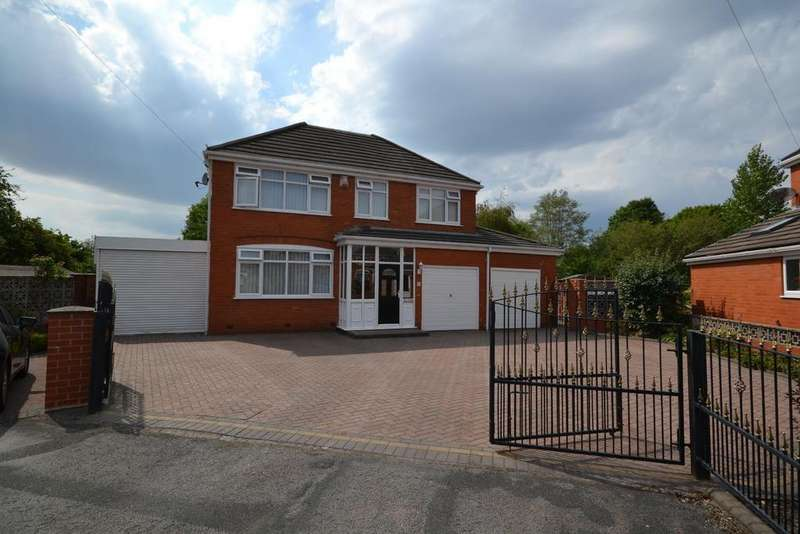 5 Bedrooms Detached House for sale in Ruscolm Close, Great Sankey, Warrington