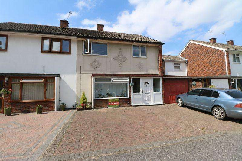 4 Bedrooms Semi Detached House for sale in Great Plumtree, Harlow