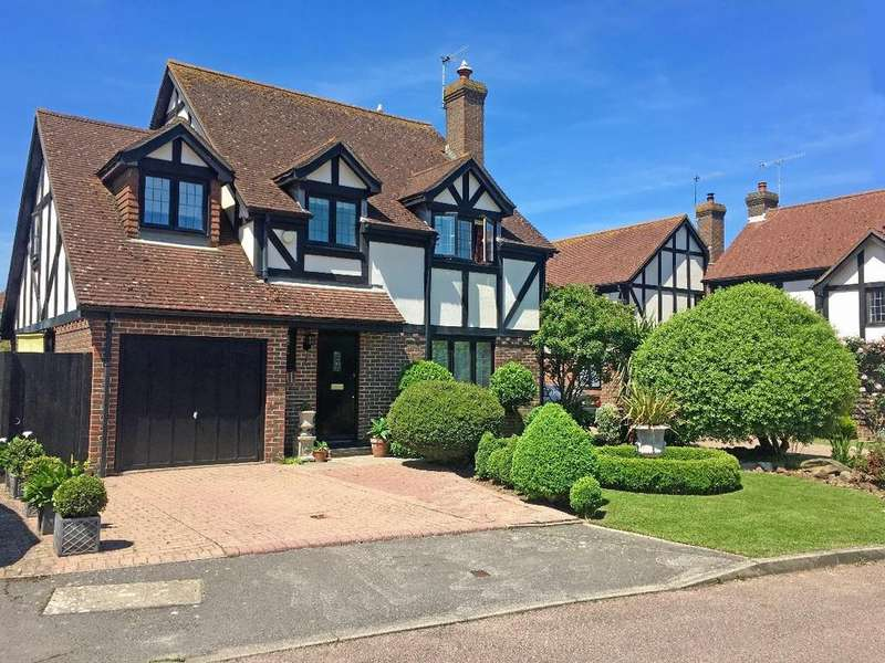 4 Bedrooms Detached House for sale in Spinnals Grove, Southwick, West Sussex, BN42