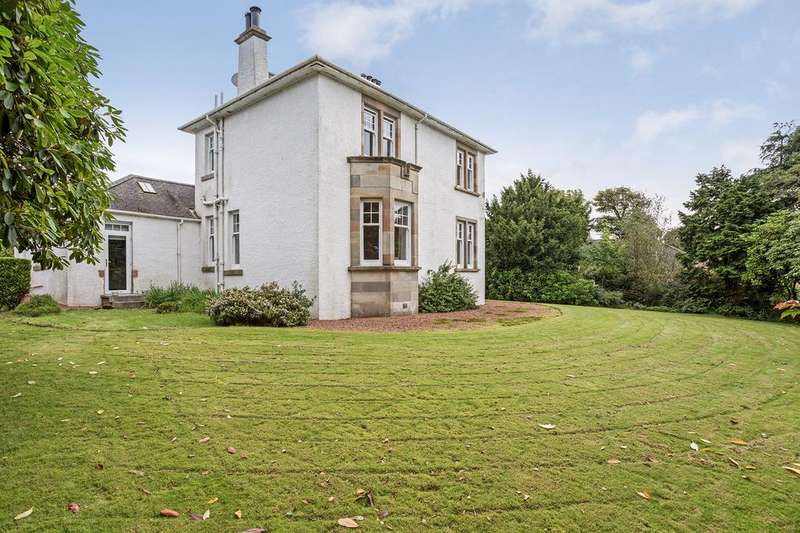 4 Bedrooms Detached Villa House for sale in Rhidorroch, 24 Loudon Street, Stewarton, KA3 5JD