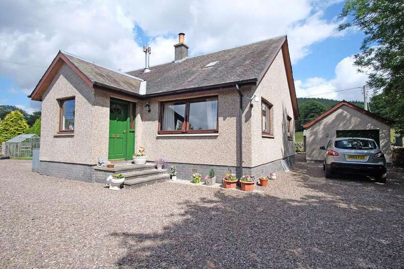 4 Bedrooms Detached Bungalow for sale in Quair View, Traquair, Innerleithen EH44 6PJ