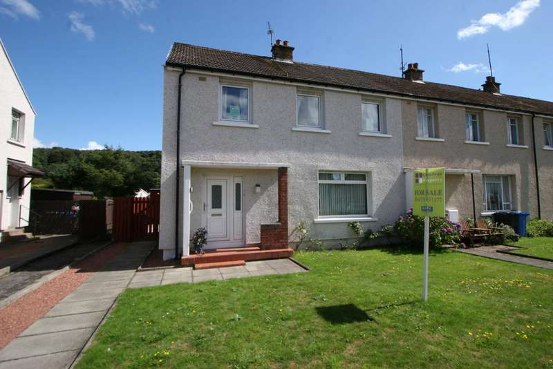 3 Bedrooms End Of Terrace House for sale in 16 Cumbrae Drive, Millport, ISLE OF CUMBRAE, KA28 0BU