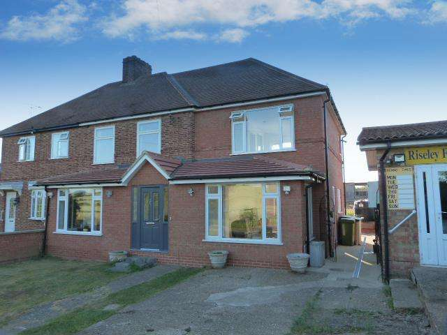 3 Bedrooms Semi Detached House for sale in Riseley BEDFORDSHIRE