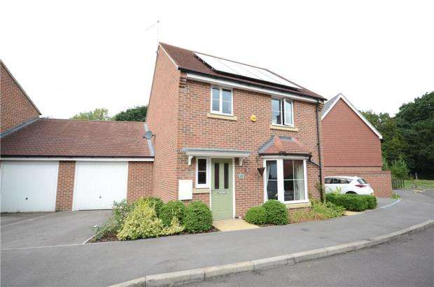 3 Bedrooms Link Detached House for sale in Crutchley Wood, Bracknell, Berkshire