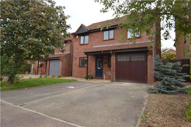 4 Bedrooms Detached House for sale in Clayfield, Yate, BRISTOL, BS37 7HU