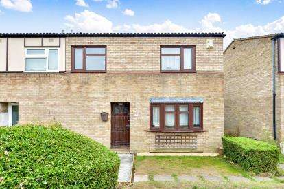 3 Bedrooms End Of Terrace House for sale in White Alder, Stacey Bushes, Milton Keynes, Buckinghamshire
