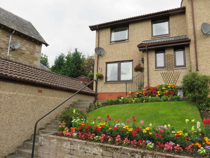 3 Bedrooms Semi Detached House for sale in 4 Toberargan Place, Pitlochry PH16