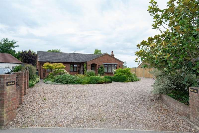 3 Bedrooms Detached Bungalow for sale in Station Road, Old Leake Commonside, Boston