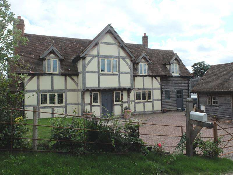 4 Bedrooms Detached House for sale in Goshen Cottage, Ashperton Road, Ashperton, Ledbury, Herefordshire, HR8 2RY