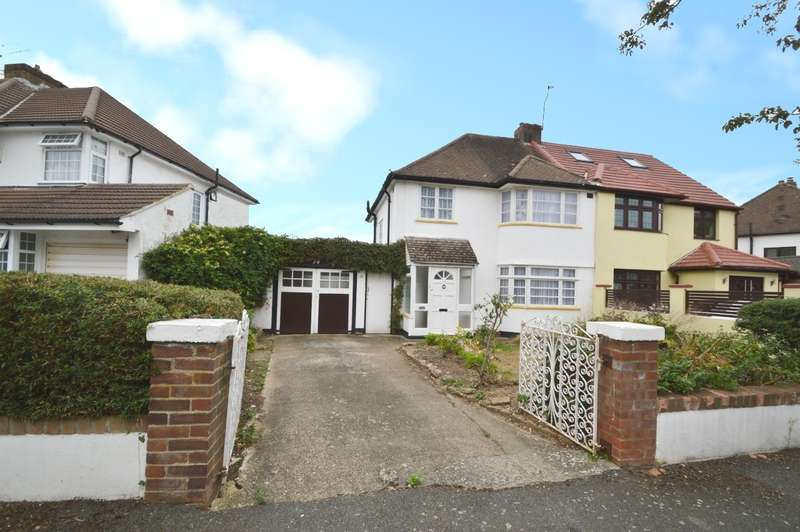 3 Bedrooms Semi Detached House for sale in Courtlands Avenue, Langley, SL3