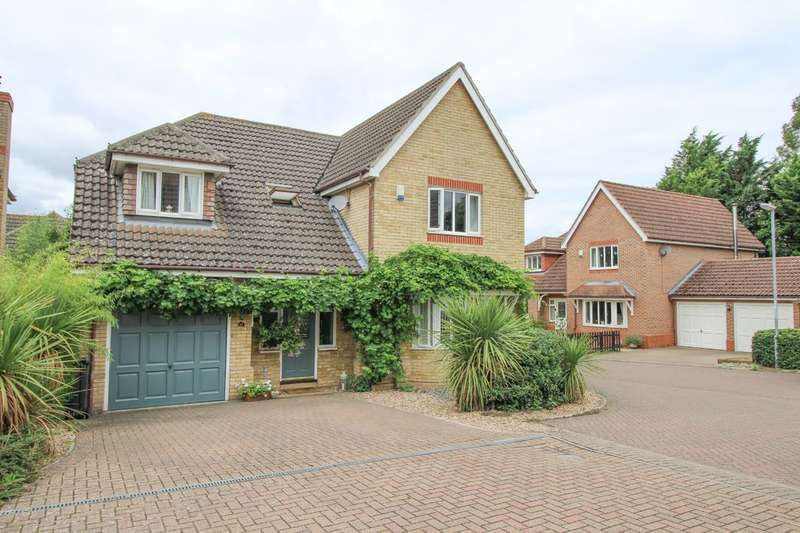 4 Bedrooms Detached House for sale in Hillside Meadow, Fordham