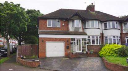 4 Bedrooms Semi Detached House for sale in Booths Farm Road, Great Barr, Birmingham, West Midlands