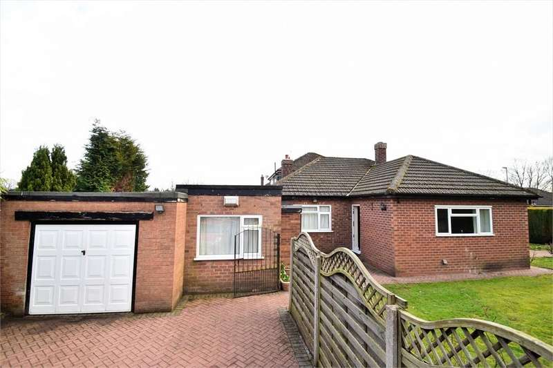 3 Bedrooms Detached Bungalow for sale in Stanneylands Drive, WILMSLOW, Cheshire