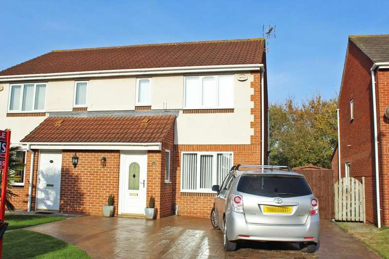 3 Bedrooms Semi Detached House for sale in Constable Grove, Billingham, TS23